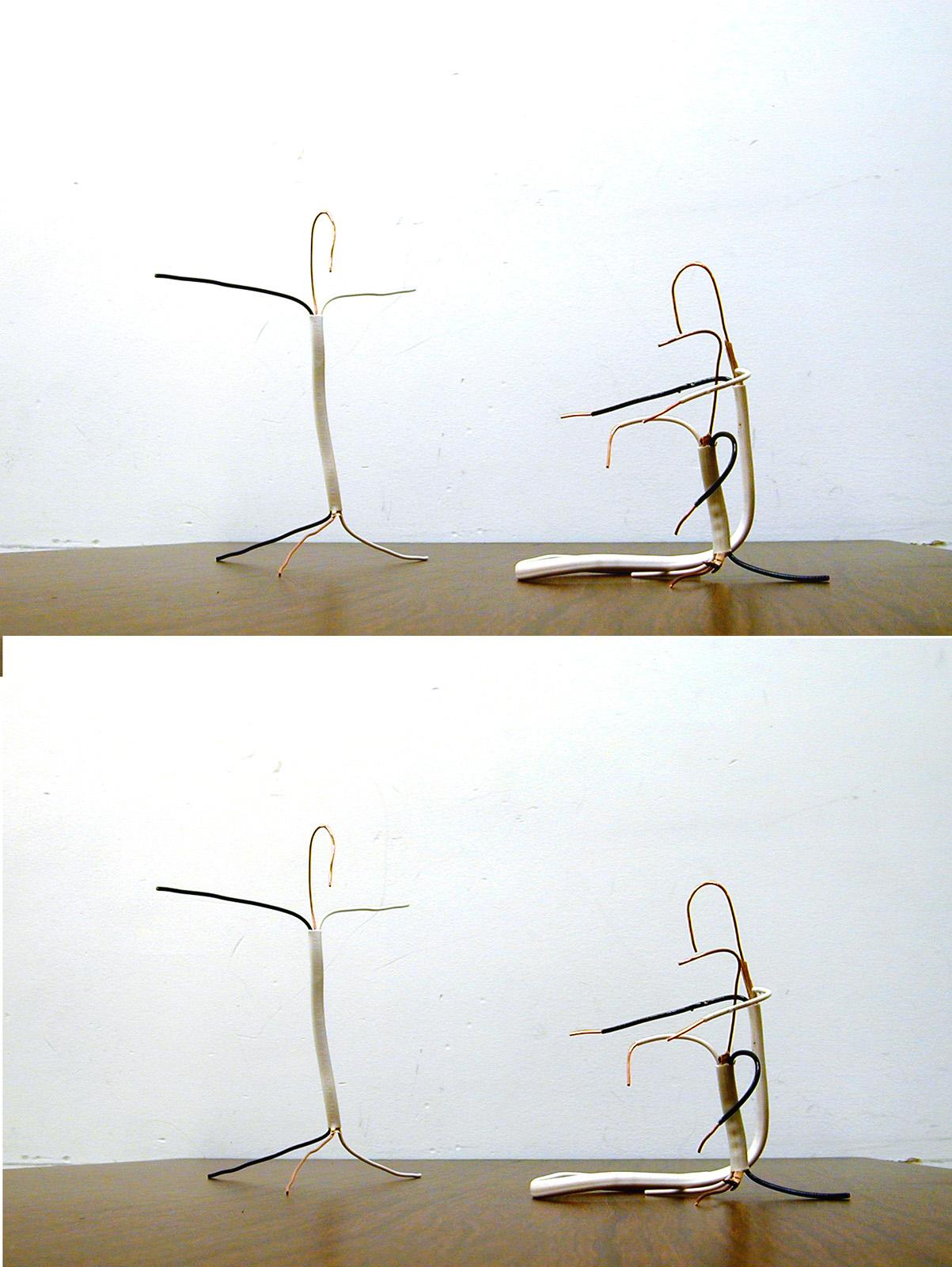 B. Copper Wire and Pipe   Jens Zorn Sculpture